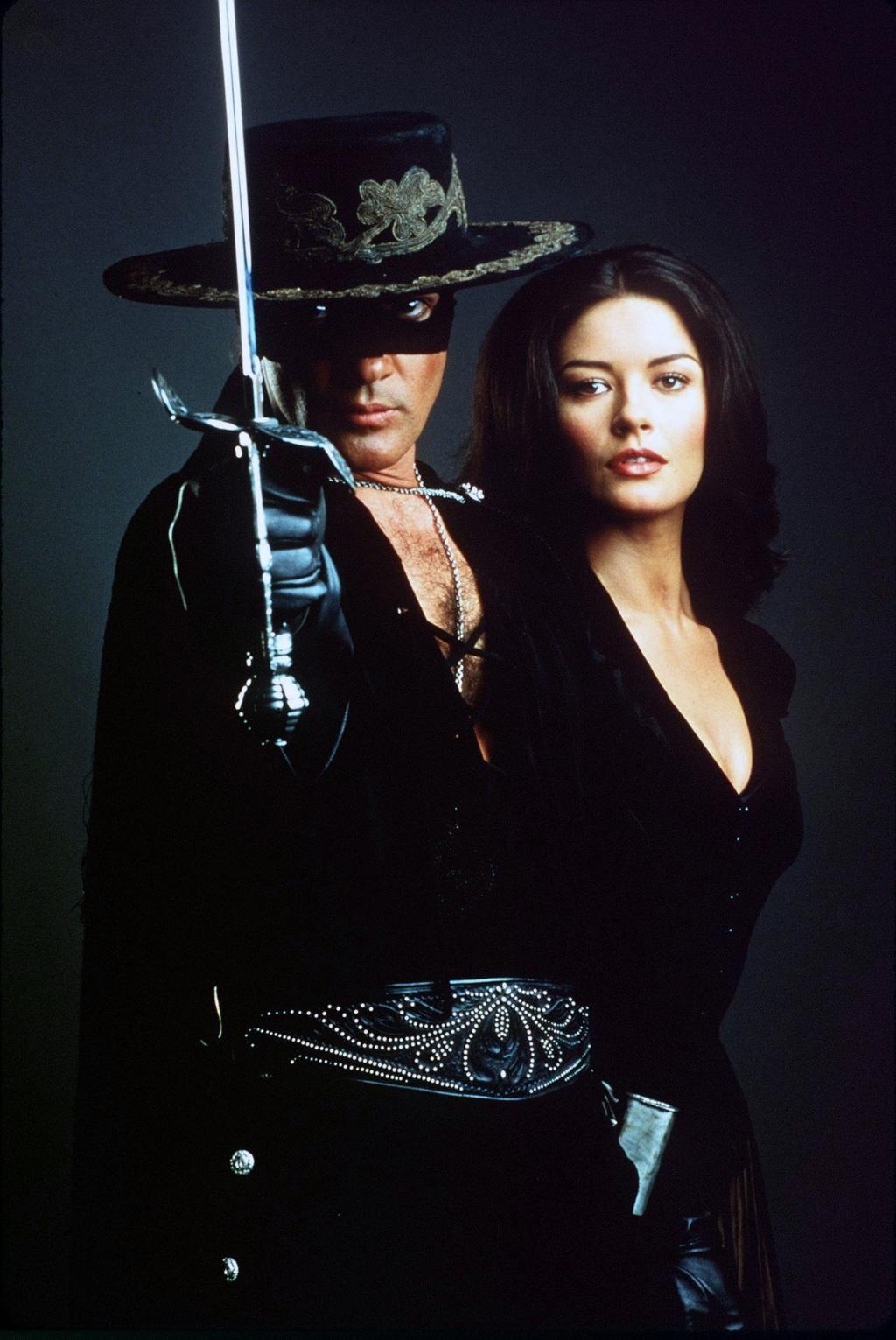 Antonio Banderas Catherine Zeta Jones The Mask Of Zorro