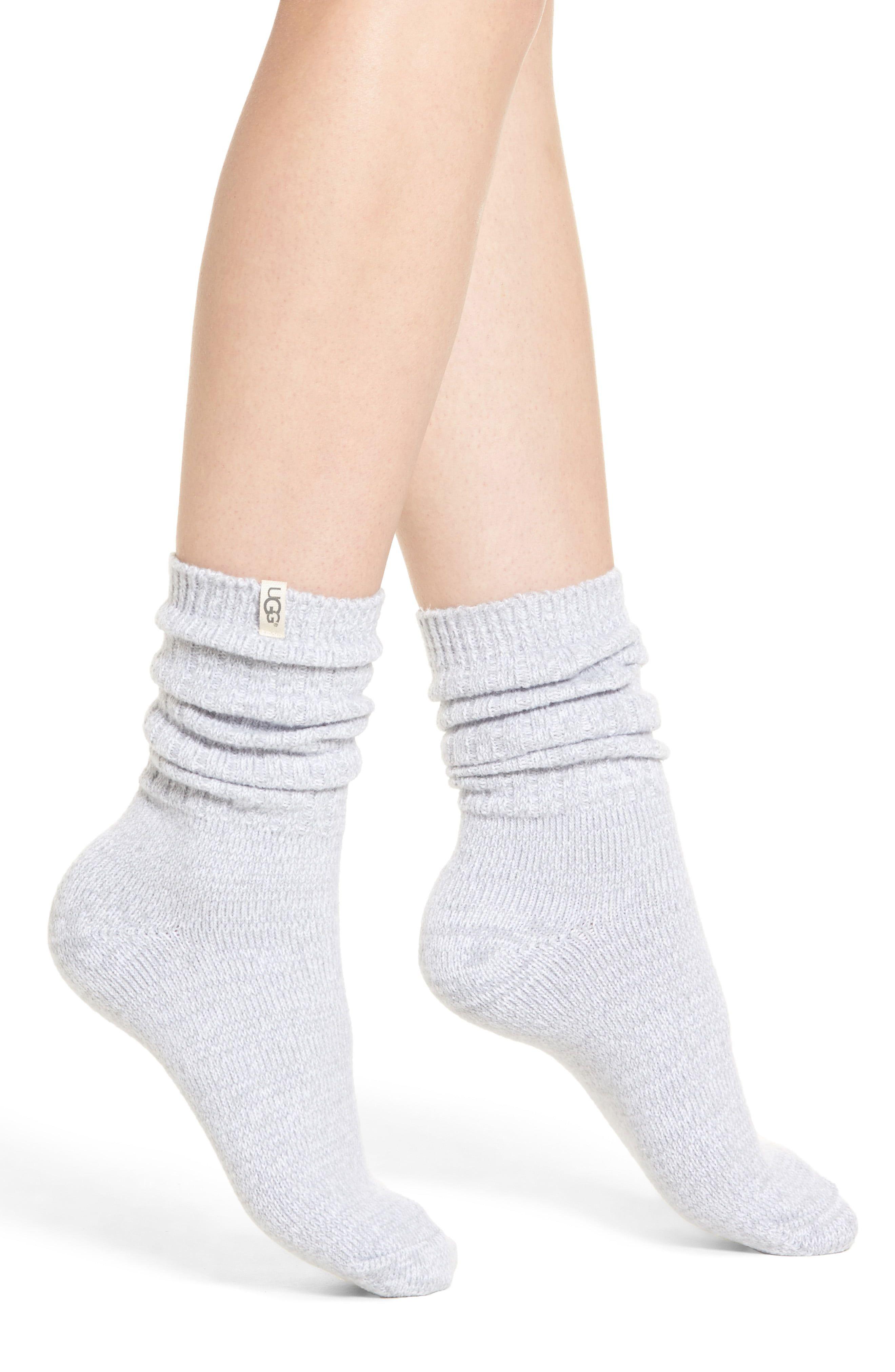 UGG® Ribbed Crew Socks | Nordstrom in
