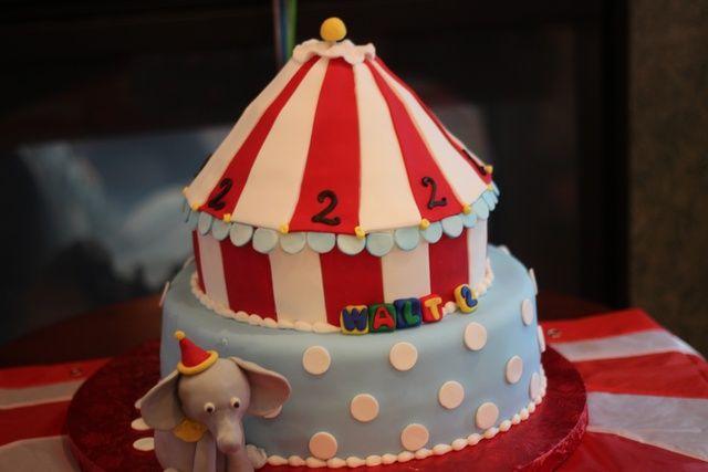 Circus Cake #circus #cake