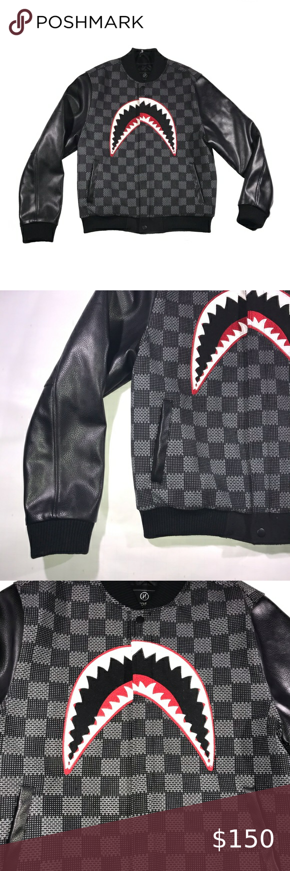 Hudson Outerwear Shark Mouth Leather Jacket Leather Jacket Outerwear Leather Sleeve [ 1740 x 580 Pixel ]