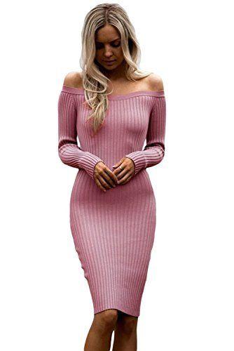 507e9b209 Vestido Ajustado LOOK CÓMODO - DINÁMICO Y ELEGANTE Vestido Casual de Color  Rosa super cómodo muy bonito fácil de llevar. ENVIO GRATIS con Amazon  Premium
