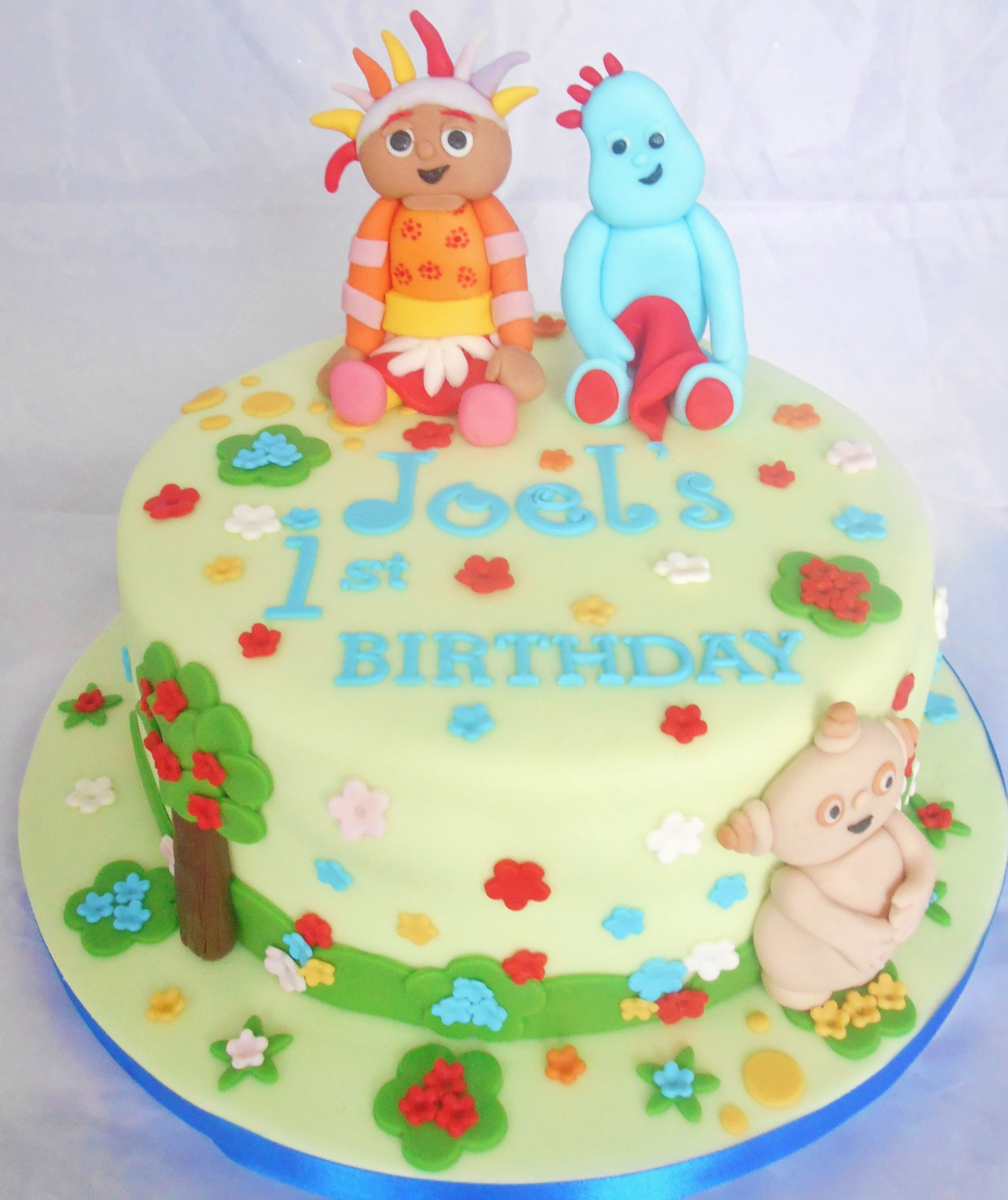 In the night garden cake | First birthday | Pinterest | Garden cakes ...