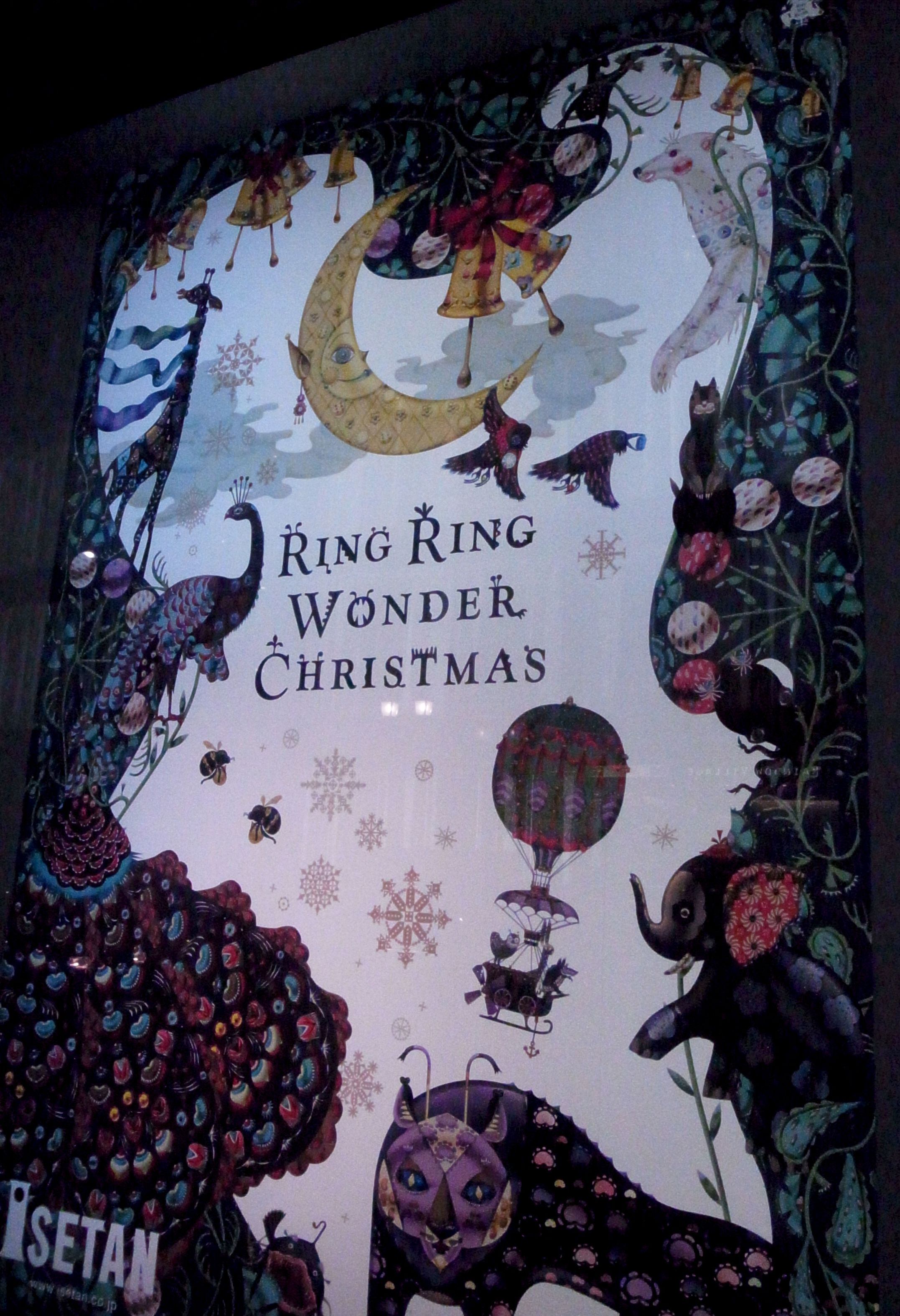 Ring Ringwonder Christmas Klaus Haapaniemi For Isetan
