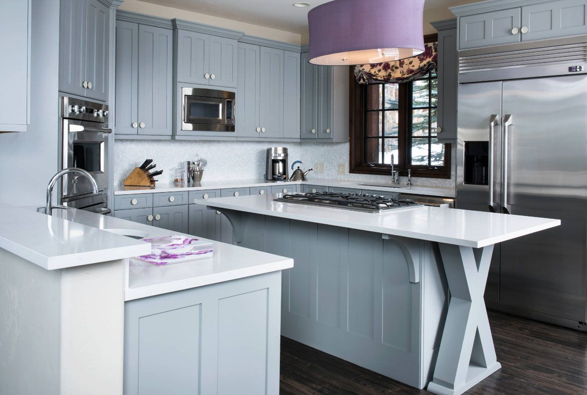 Design Trend Blue Kitchen Cabinets 30 Ideas To Get You Started Home Remodeling Contractors Kitchen Cabinets For Sale Blue Kitchen Cabinets Blue Kitchens