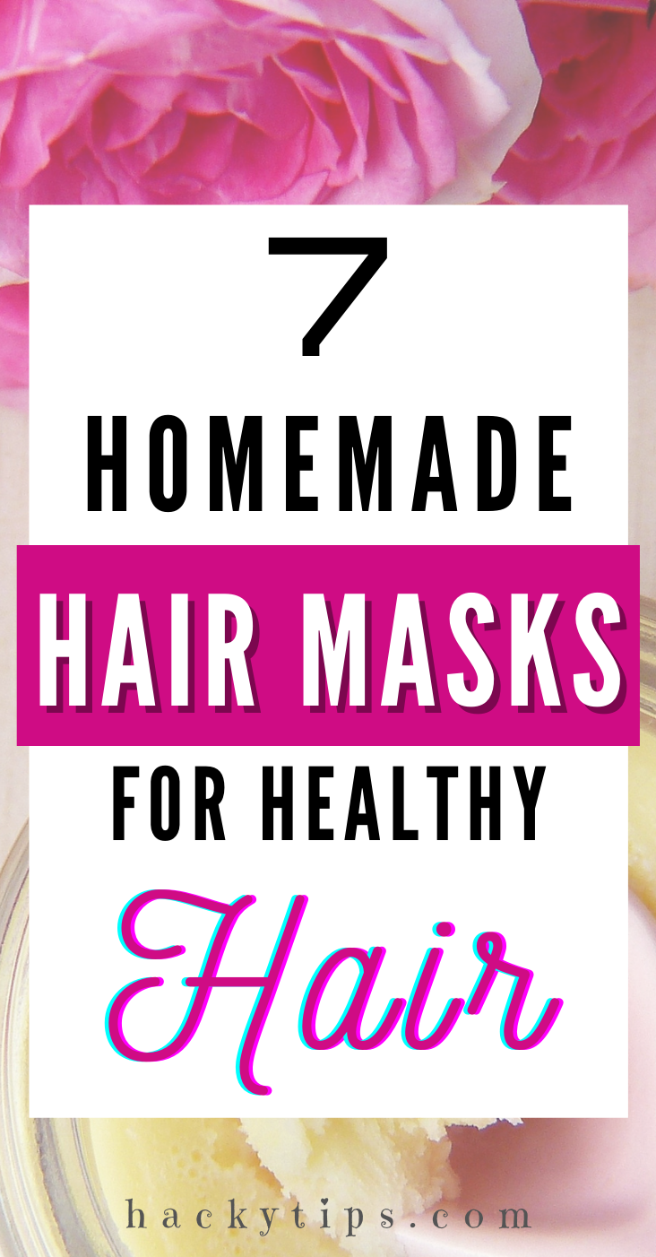7 Homemade Hair Masks For Healthy Hair Hair damage