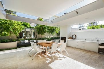 Ozone Extension/Renovation - contemporary - Patio - Perth - Liz Prater Design Home