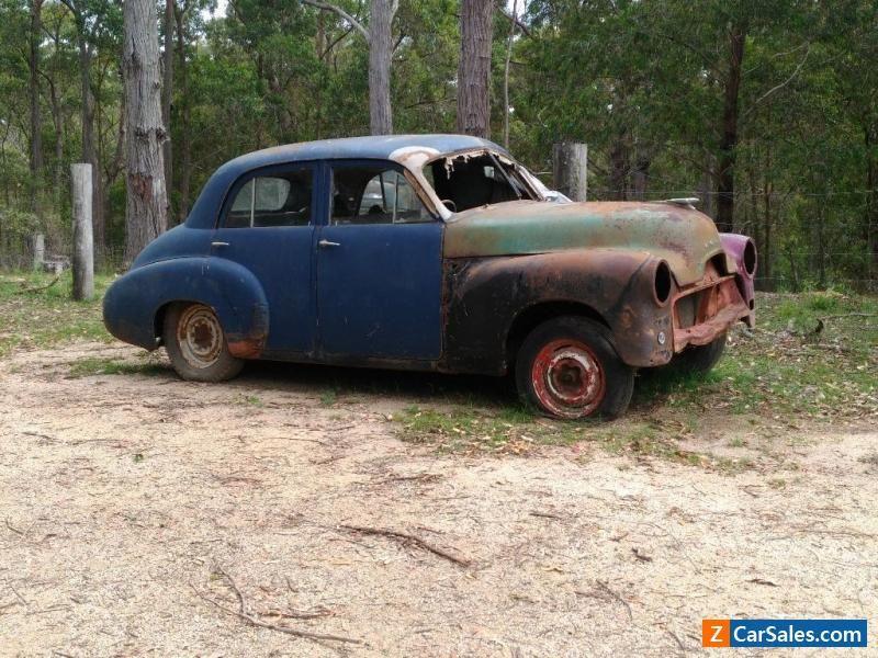 1952 Fj holden classic no rust motor turns hotrod ratrod petina old ...