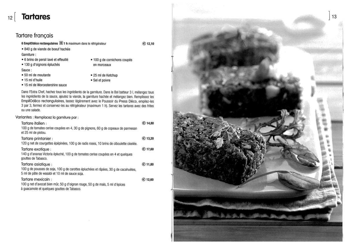 Des petites recettes de tartare avec tupperware et les empilod cos tupperware recettes - Cuisiner avec tupperware ...