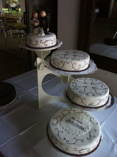 etagere wedding torte hochzeit hochzeitstorte und. Black Bedroom Furniture Sets. Home Design Ideas