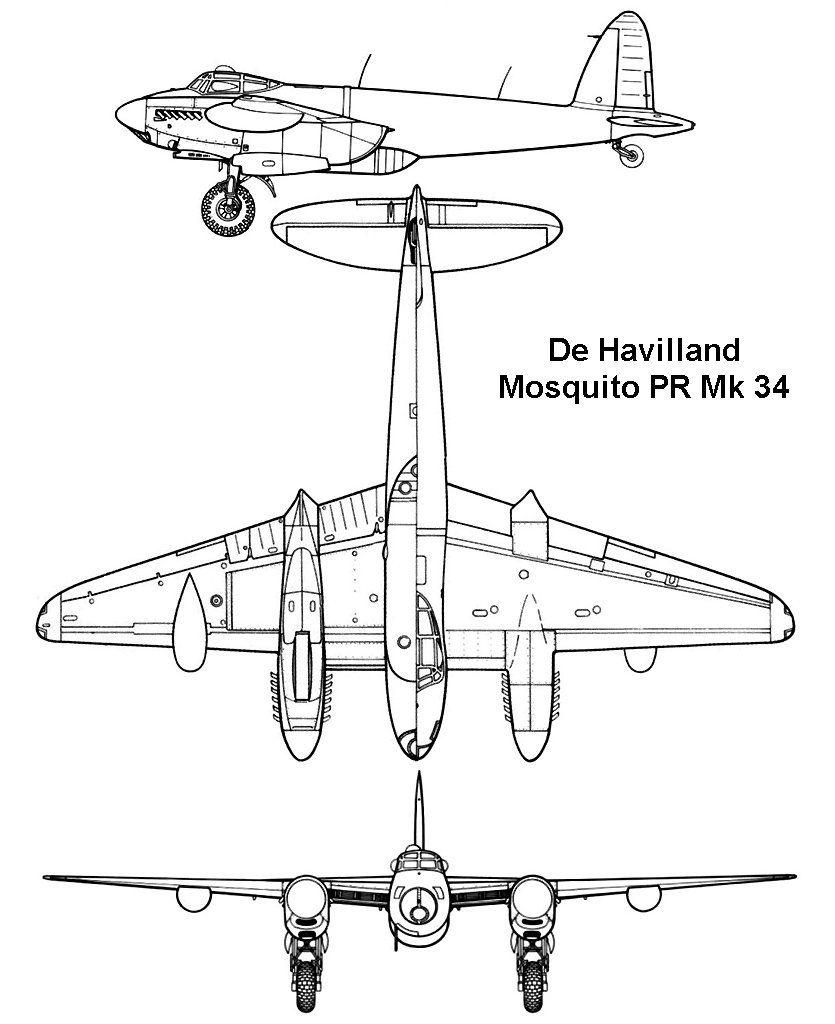de Havilland DH 98 Mosquito - RC Groups | Second World War