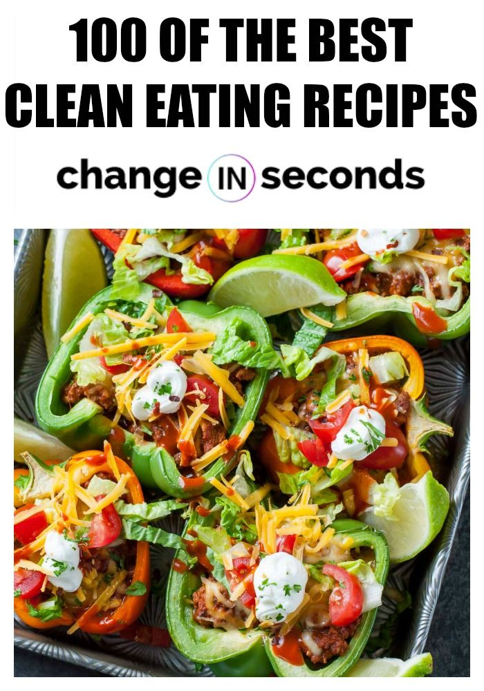 Clean Eating Recipes, 100 Of The Best Tasting Recipes You Will Ever Try! #cleaneating