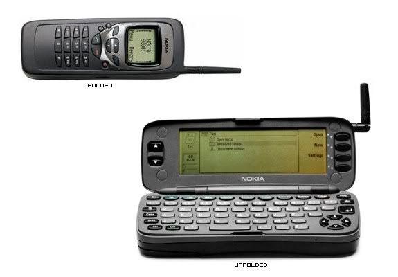 Nokia 9000 Communicator (1996) - YouTube