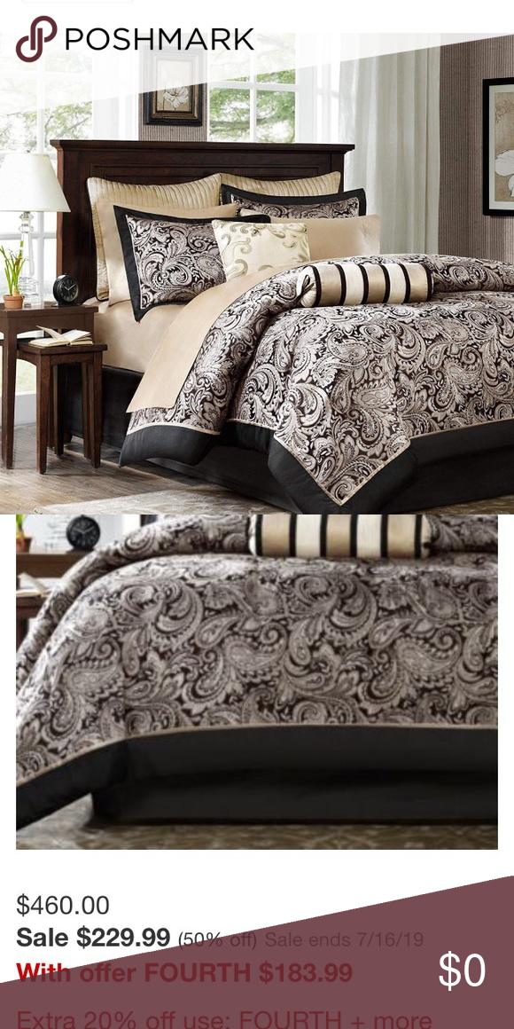 Paisley Jacquard Bedding Set Paisley Jacquard Bedding Set Bought