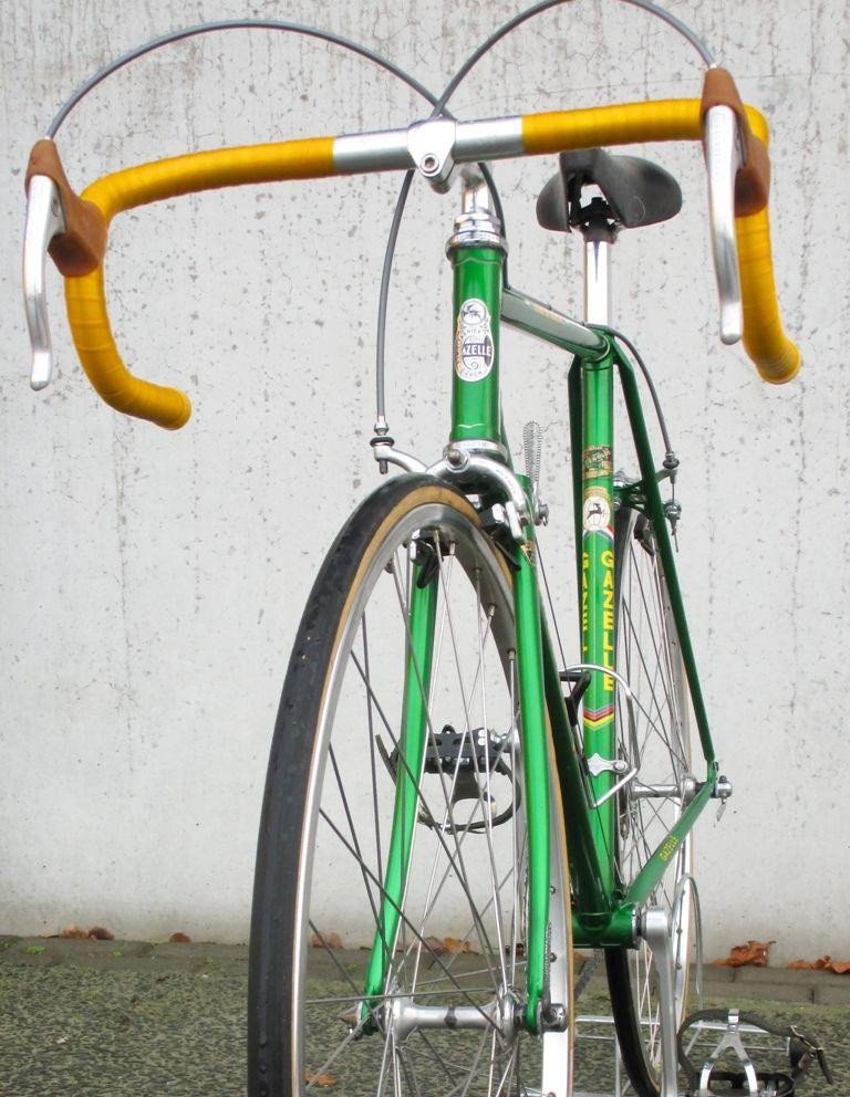 1978 Gazelle Champion Aa Bicycle Green Jaguar