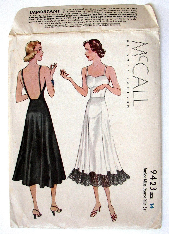 McCall 9423- Junior Miss Slip