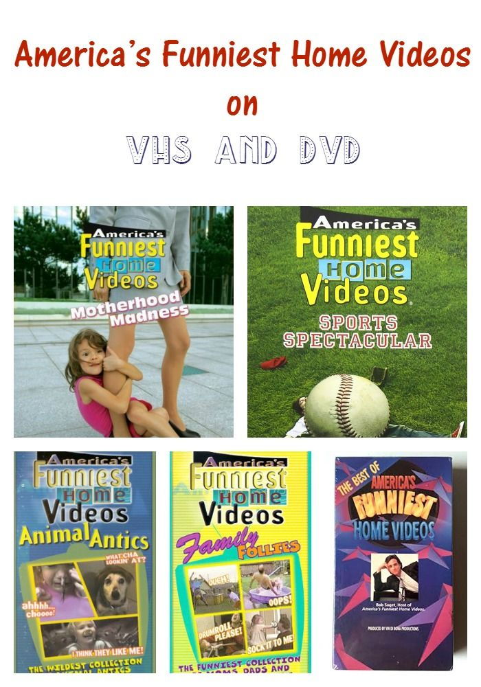 America\'s Funniest Home Videos on VHS and DVD\'s | My Teen Guide ...