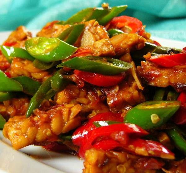 Resep Masakan Aneka Olahan Tempe Suriname Food Indonesian Food Indonesian Recipes Recipe Boards