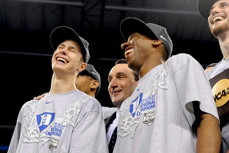 Jon Scheyer, Coach K and Nolan Smith
