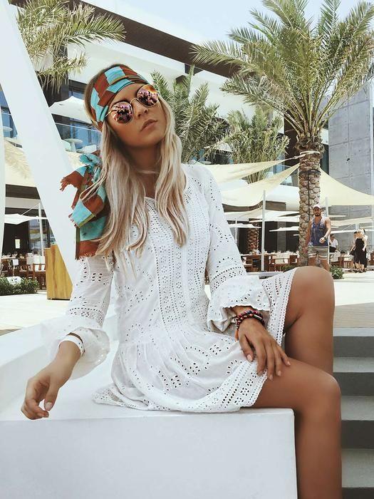 Hippie kleid kurz