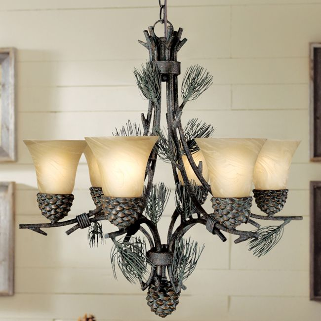 Ponderosa Chandelier If It 39 S Big Enough Perfect For New