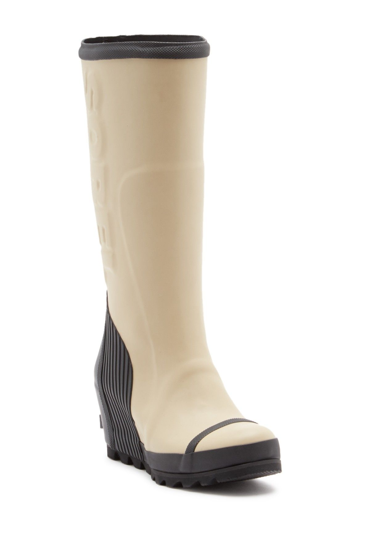 038788ba30e Sorel - Joan Tall Waterproof Wedge Rain Boot is now 60% off. Free Shipping  on orders over  100.