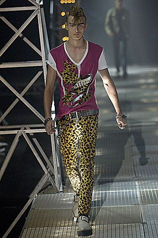 John Galliano Spring 2007 Menswear