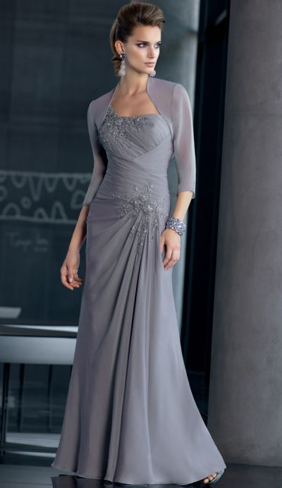 ce8a6c86c25 VM Collection One Shoulder Lace Chiffon Mothers Dress 70510 at frenchnovelty .com
