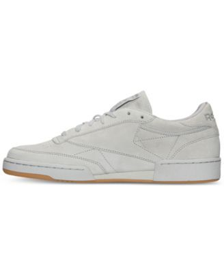 f179cdee73c5e0 Reebok Men s Club C 85 Casual Sneakers from Finish Line - STEEL CARBON-GUM  10.5