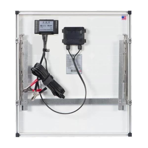 Zamp Solar 45 Watt Single Panel Portable Solar Kit Solar Power Kits Traditional Frames Solar Panels