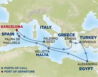 Go On A Mediterranean Cruise