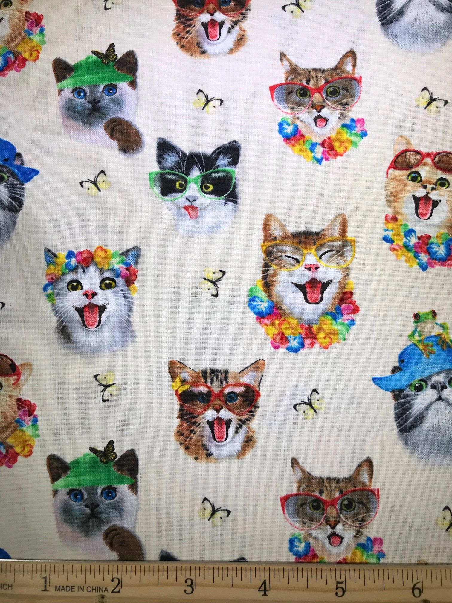 Pin on Cat Fabric