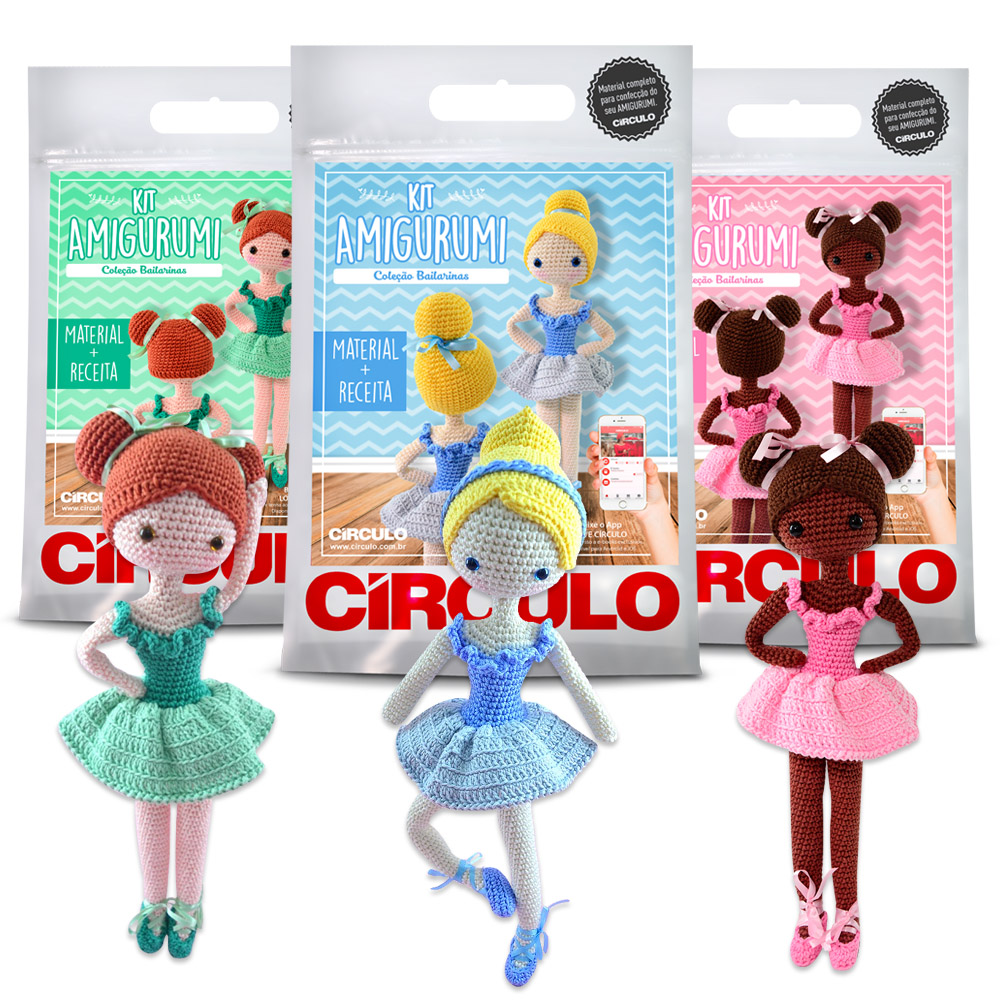 Amigurumi - Kit Unicórnio Sofia Crochê - R$ 71,00 em Mercado Livre | 1000x1000