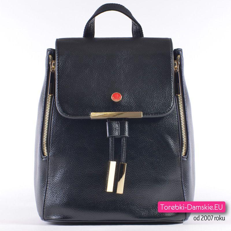 6a7e3d09d6e0c Oryginalny plecak Monnari w kolorze czarnym