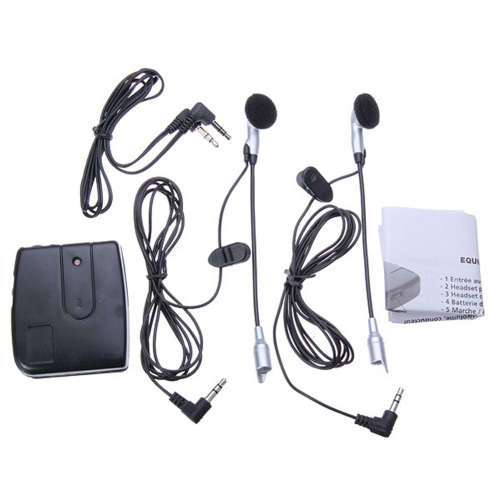 High Quality Motorbike Motorcycle Helmet Headset 2 Way Intercom Communication System Cp326 Ssaw