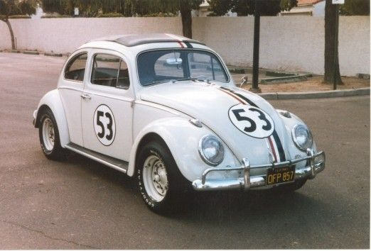 Herbie The Love Bug Fan Club And Historical Society Volkswagen