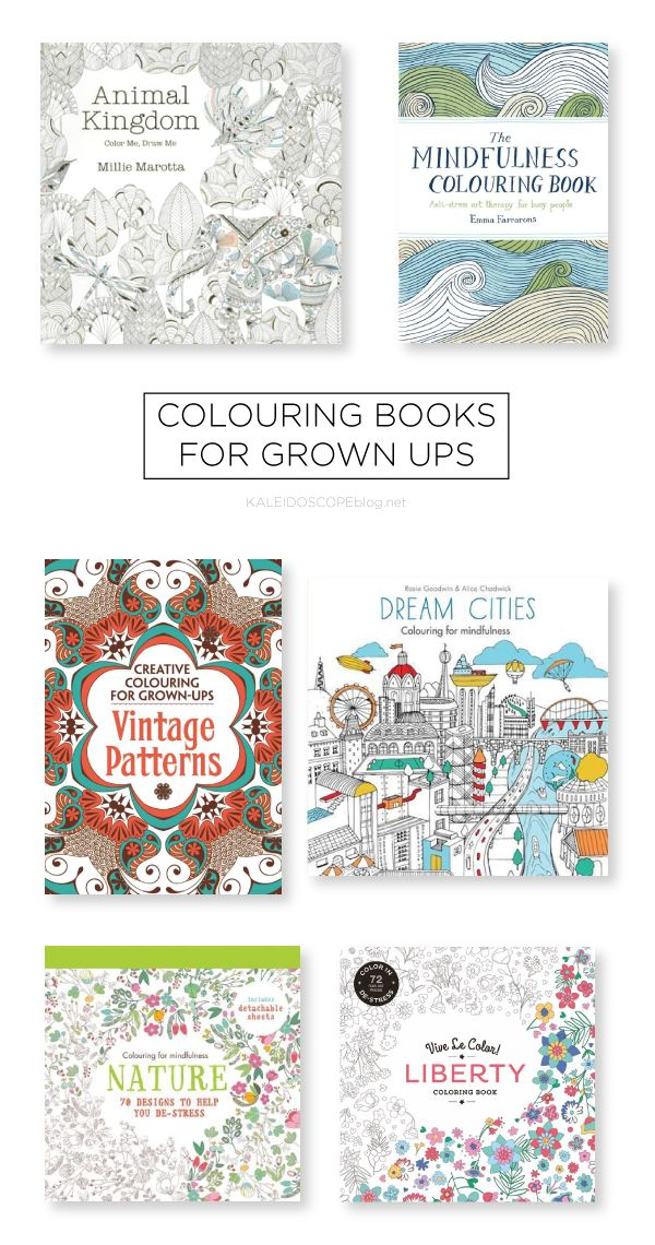 COLOURING BOOKS FOR GROWN UPS | Libros para colorear, Colorear y Libros