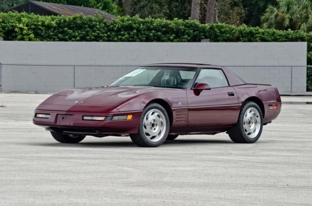 1993 Chevrolet Corvette 40th Anniversary Convertible, 6-Speed, 16 Miles for sale by Mecum Auction