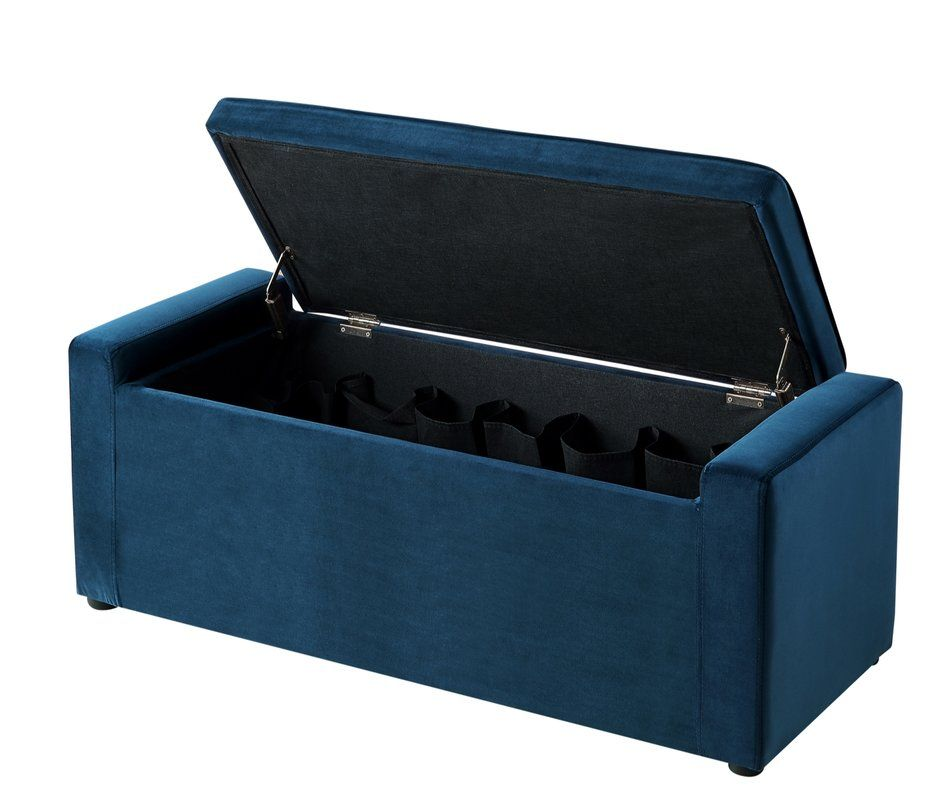 Fasching Upholstered Shoe Storage Bench Bench With Shoe Storage
