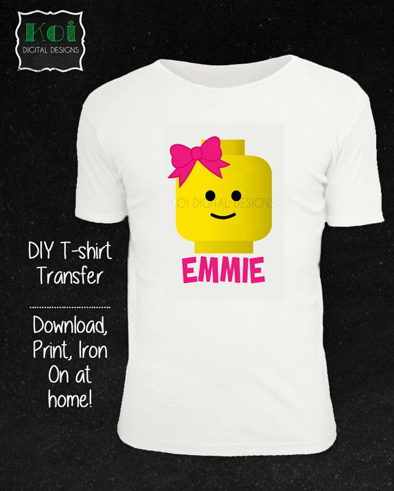 Hey, I found this really awesome Etsy listing at https://www.etsy.com/listing/202601708/diy-lego-girl-t-shirt-iron-on-digital