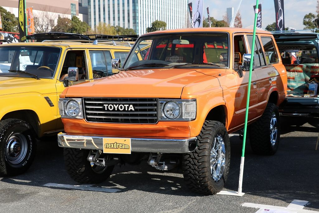 ランクル60丸目 アメリカンカスタム オレンジパール Fuelアルミホイール タイヤ Toyota Landcruiser60 Fj62v タンドラ ランクル60 ランドクルーザー