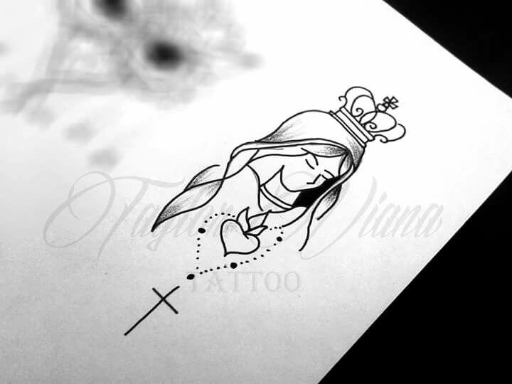 1000 Ideias Sobre Mensagem Nossa Senhora Aparecida No: Tattoo Feminina, Tatuagem