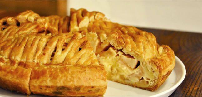 GRANNY SMITH APPLE PIE ENGLAND CUSTARD グラニースミス 手作りアップルパイ イングランドカスタード #food