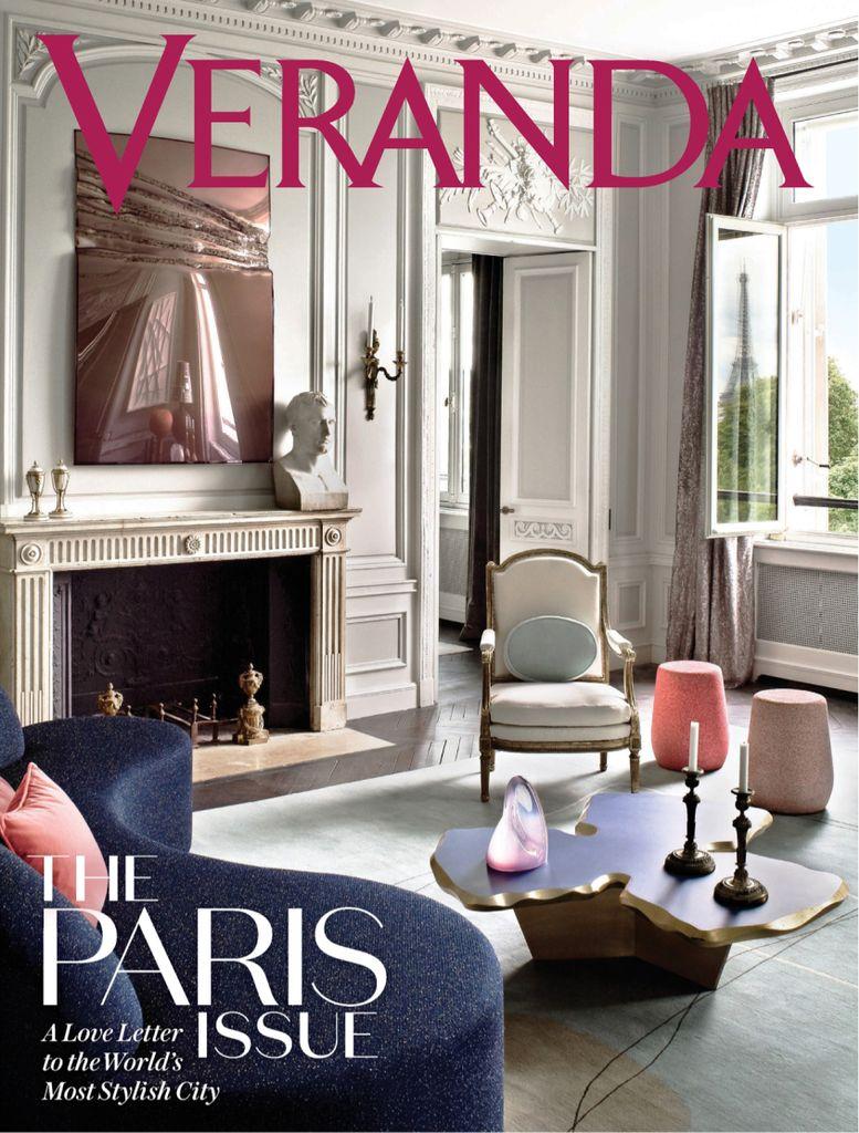 Veranda January 2020 Pdf Download Free Veranda Magazine Veranda Paris Home