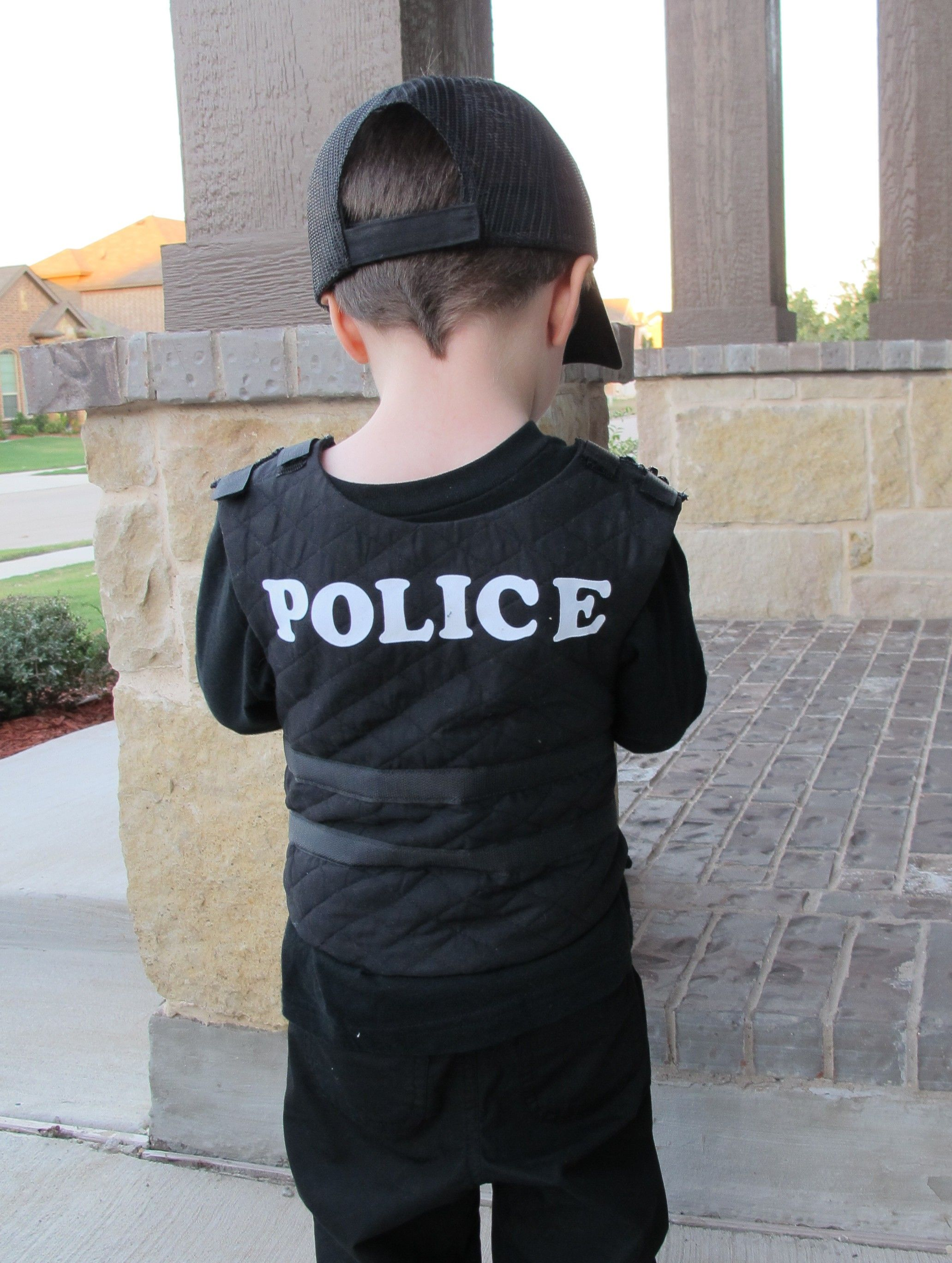 diy police officer | Child costumes and dress ups | Pinterest ...