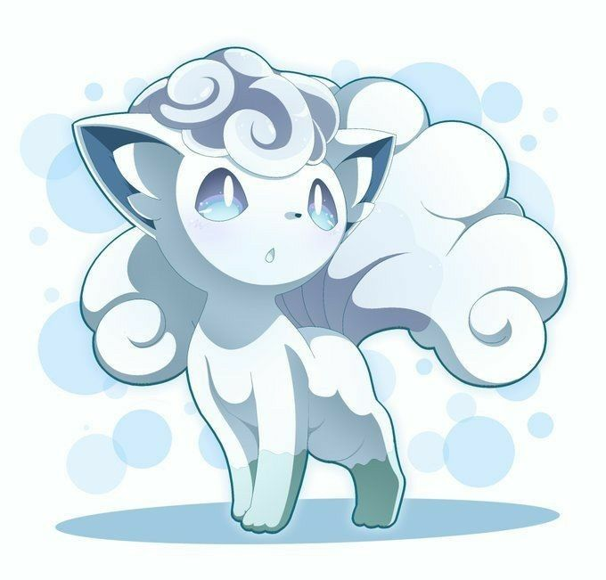 How To Draw Alola Vulpix From Pokemon Sun And Moon Drawingtutorials101 Com Pokemon Drawings Pokemon Sketch Pokemon Coloring