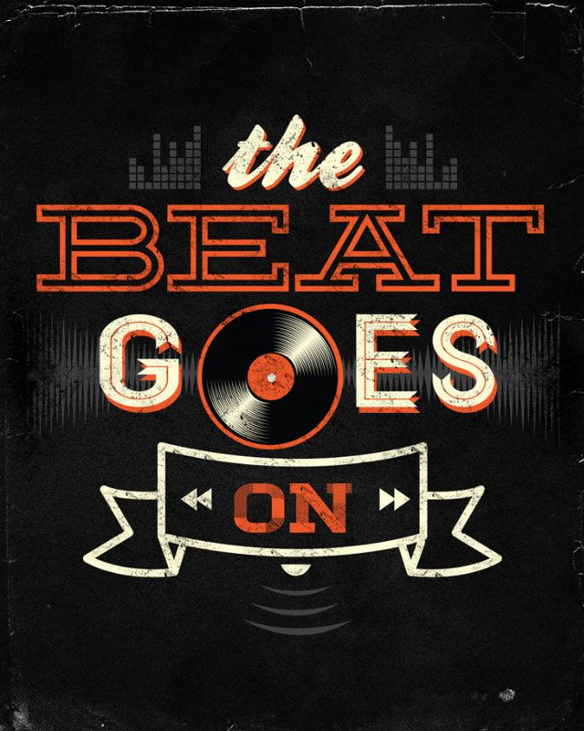 The Beat Goes On by dandingeroz on Threadless