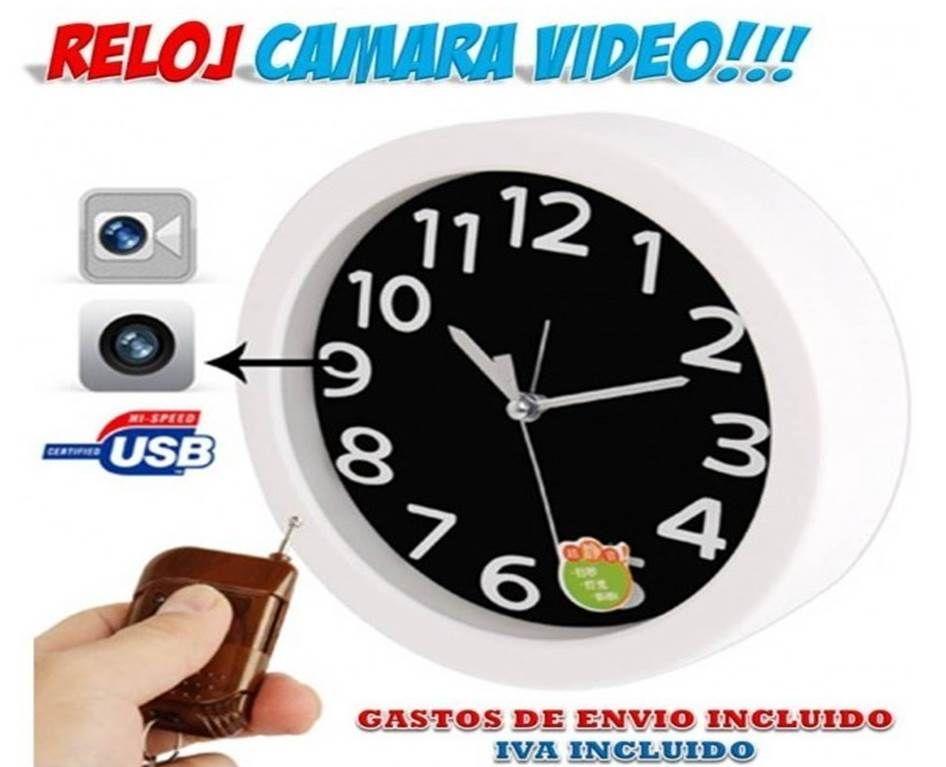 66e5d1effa5a Reloj espía con cámara de video. Venta cámaras espía a precios baratos en  la tienda espía Yougametronica. Seguridad y vigilancia al mejor precio.