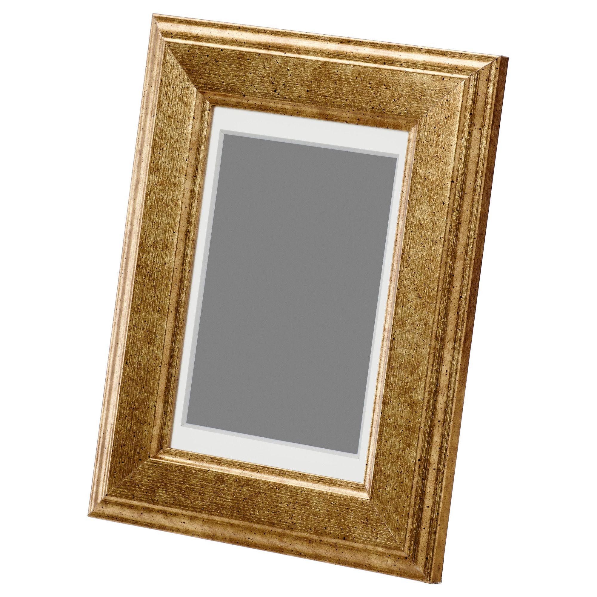 VIRSERUM Frame - gold - IKEA $3.99 4x6 | Work | Pinterest | Rahmen ...