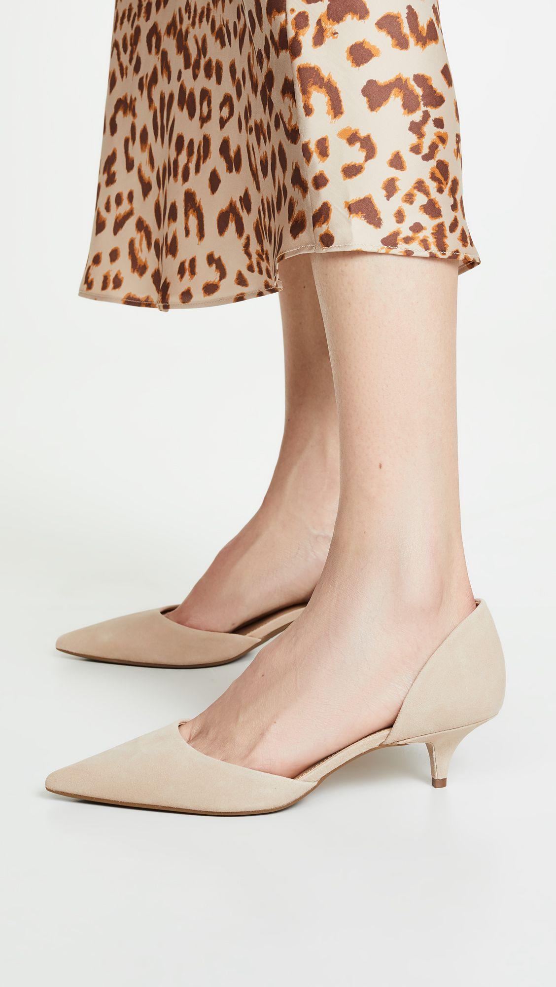 Michael Michael Kors Alba Flex Pumps Kitten Heel Pumps Pointed Heels Heels