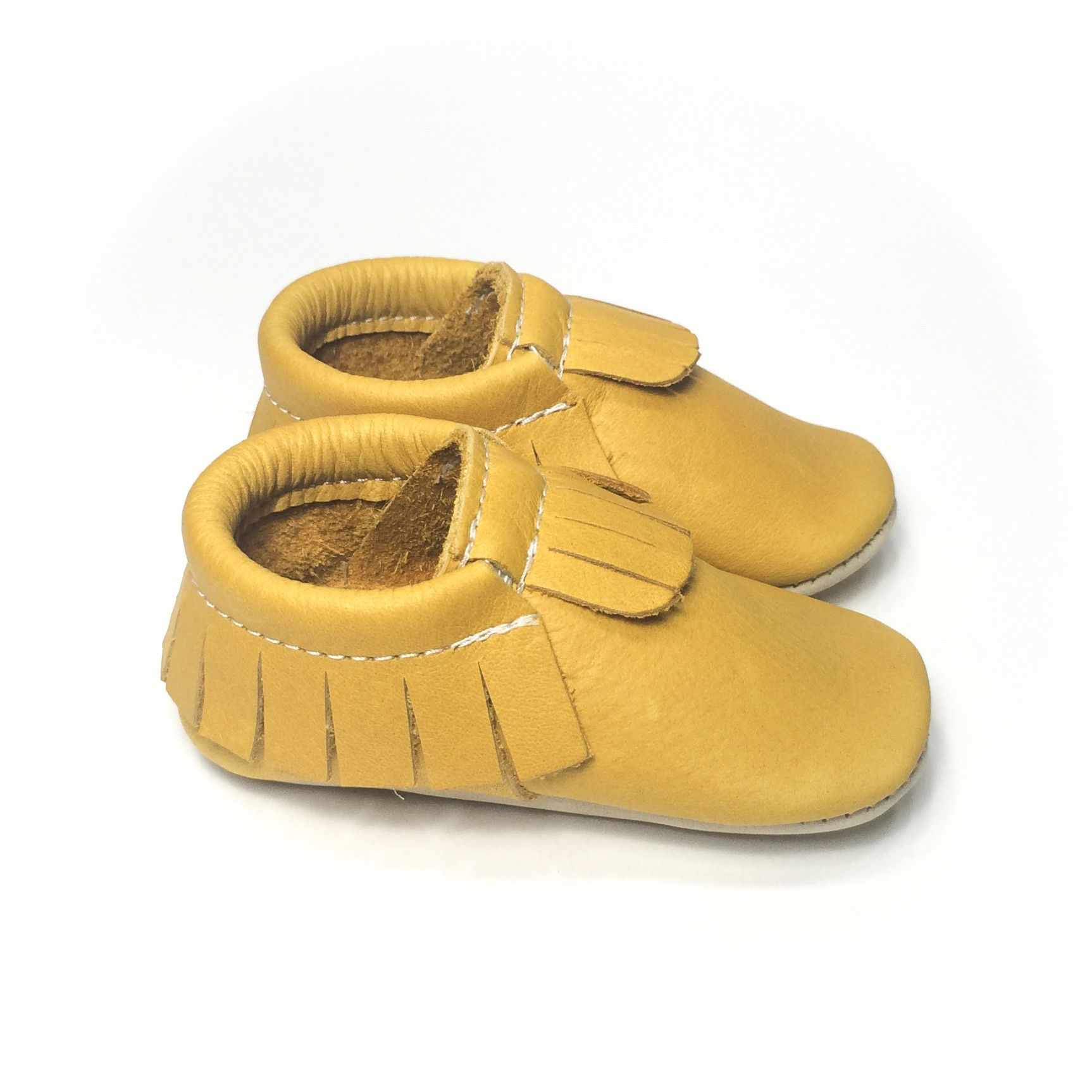 Lion moccasins - Minimoc - made in Canada